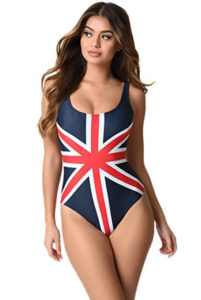 union jack swimsuit