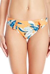 orange and blue bikini bottoms